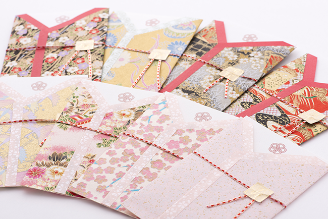 和風の結婚式招待状セット 着物シリーズ01